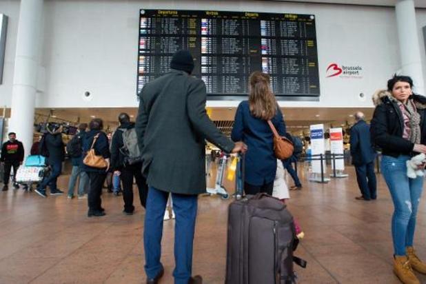 Stormweer heeft slechts kleine impact op luchtverkeer op Brussels Airport