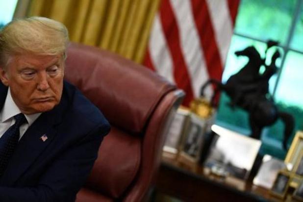 Amerikaanse president Trump haalt uit naar Twitter