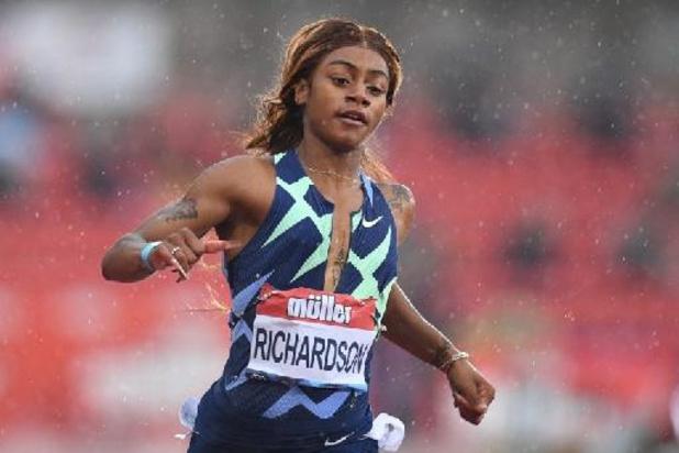 L'Américaine Sha'Carri Richardson confirme avoir été contrôlée positive à la marijuana