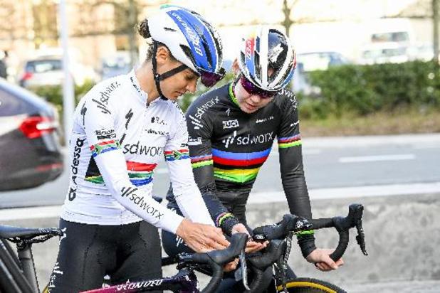 Giro Donne - Triplé des SD Worx et victoire en solitaire d'Ashleigh Moolman-Pasio