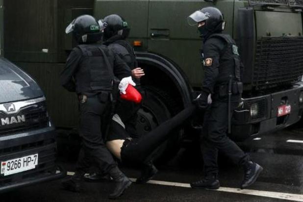 Spanningen Wit-Rusland - Ngo meldt 150 arrestaties bij repressie manifestatie in Minsk