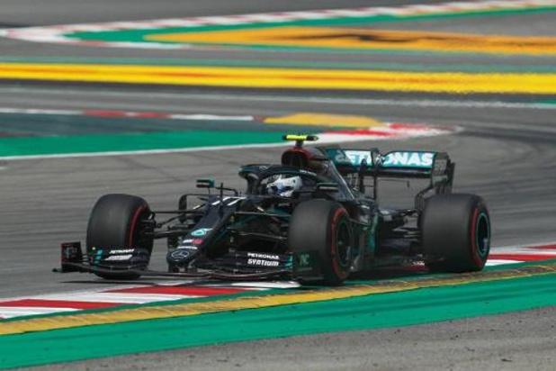 Mercedes domine la première séance d'essais libres au Grand Prix d'Espagne
