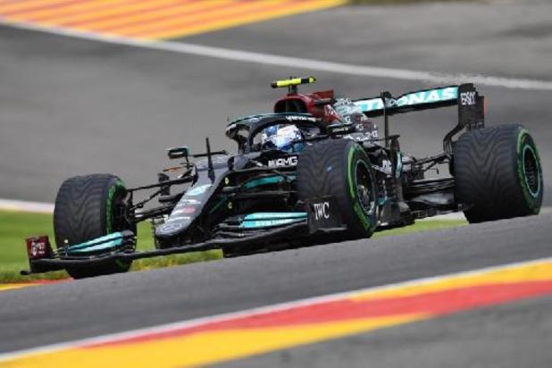 Valtteri Bottas signe le meilleur temps de la première séance d'essais libres