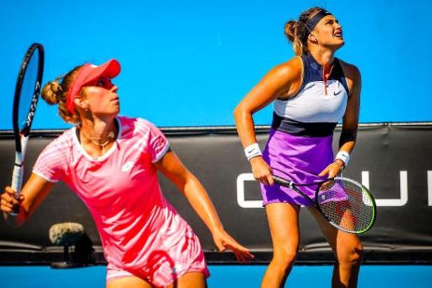 Open d'Australie - Elise Mertens et Aryna Sabalenka opposées à Siegemund/Zvonareva en 1/8es du double