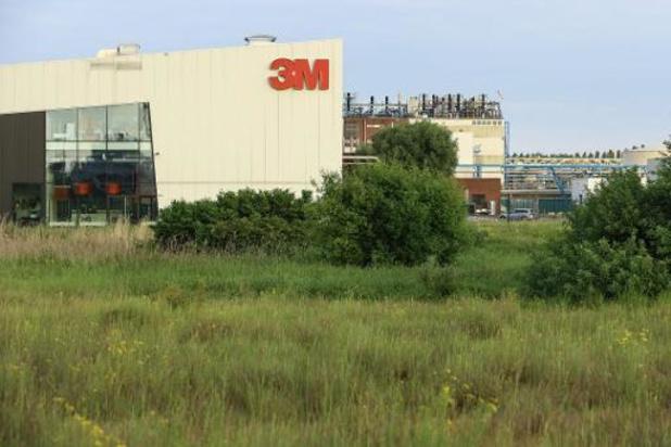 L'entreprise 3M, à l'origine d'une pollution à Zwijndrecht, a reçu plus de 5 millions d'euros de subsides régionaux