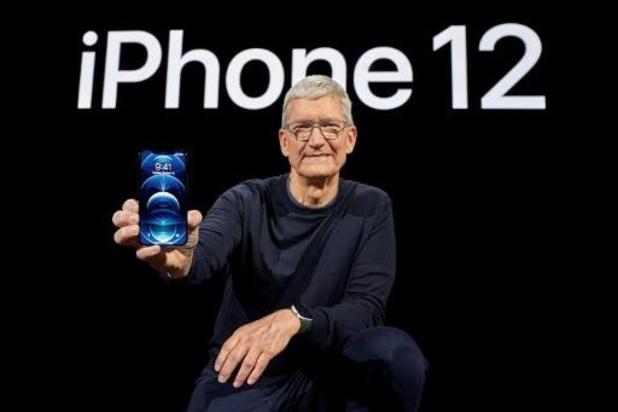 Apple lance son premier iPhone avec la 5G