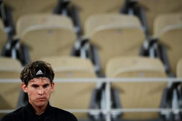 Roland-Garros: Dominic Thiem gère sereinement son premier tour contre Marin Cilic