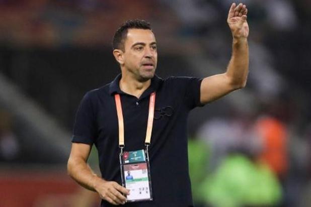 "Primera Division - Xavi ""rêve"" d'entraîner le Barça, Al Sadd confirme des pourparlers"