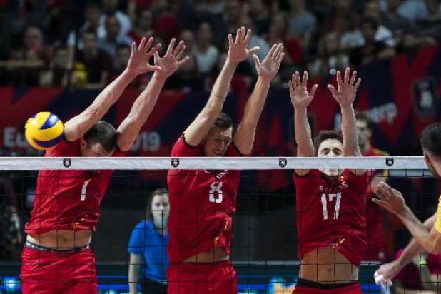 European Golden League volley (m) - Red Dragons kunnen weer niet winnen van Estland