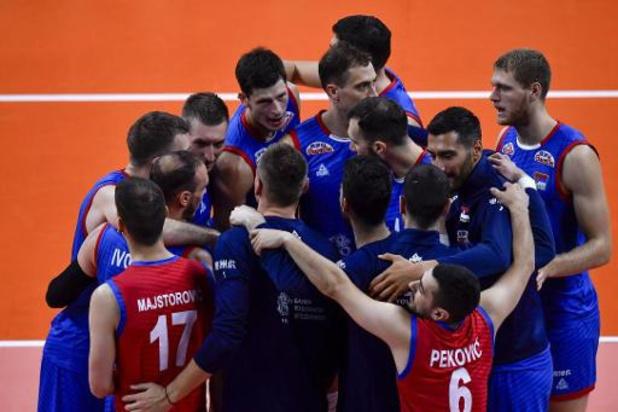 Euro de volley (m) - La Serbie bat la République tchèque et attend le vainqueur de Belgique-Ukraine