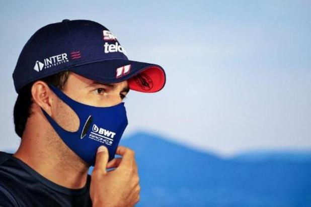 F1 - Sergio Perez premier pilote positif au Covid-19 et forfait pour le GP de Grande-Bretagne