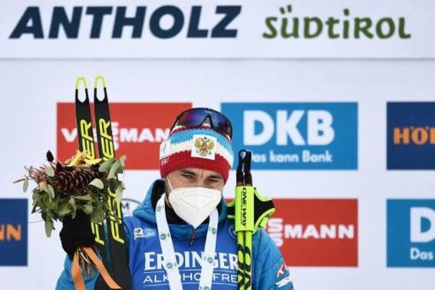 Le Russe Loginov gagne le 20km à Antholz-Anterselva, Florent Claude, premier Belge, 49e