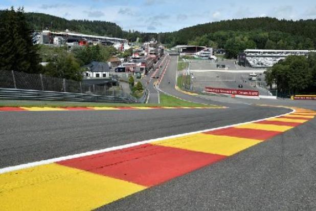 Intempéries - Les activités en piste reprendront mardi à Spa-Francorchamps