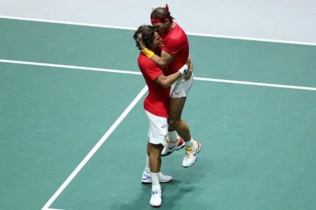 Davis Cup - Spanje naar finale na winst tegen Groot-Brittannië
