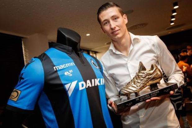 Soulier d'Or - Hans Vanaken pourrait devenir le 4e joueur à recevoir deux fois de suite le trophée