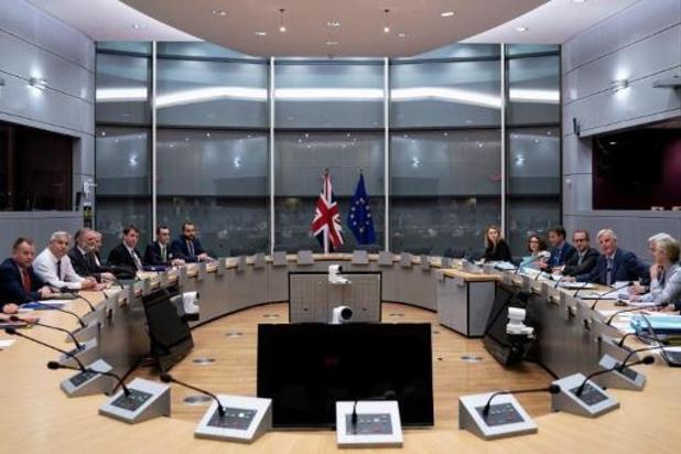 """Brexit-onderhandelaars praten over """"concepten, principes en ideeën"""""""