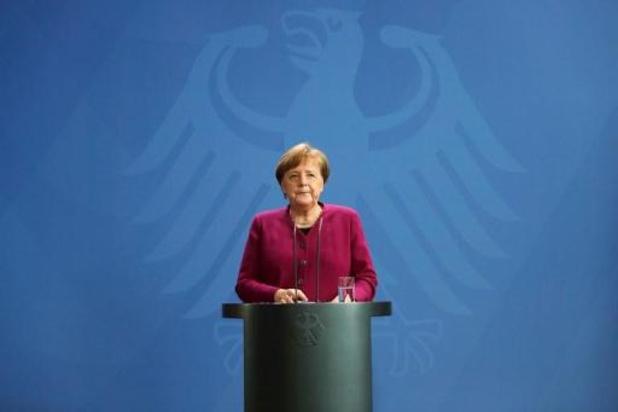 Confinement: Angela Merkel appelle les Allemands à la patience