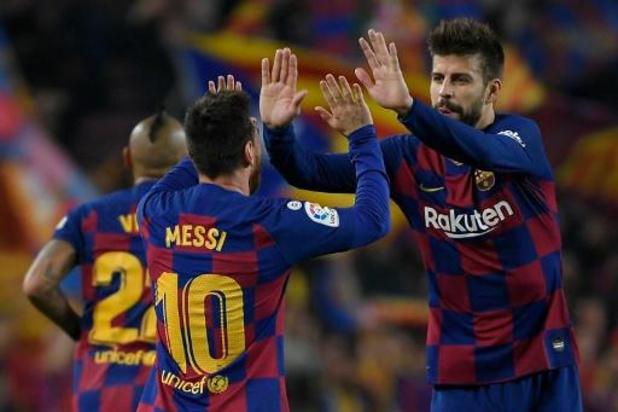 La Liga - Barcelona opnieuw leider na forse uithaal tegen Valladolid