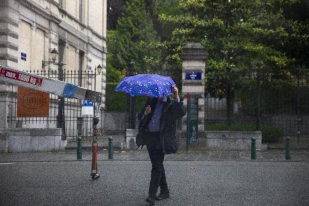 Encore quelques jours de pluie avant le retour d'un temps sec