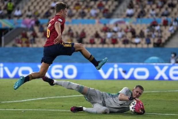 EK 2020 - Spanje morst met kansen en komt tegen stug Zweden niet verder dan 0-0