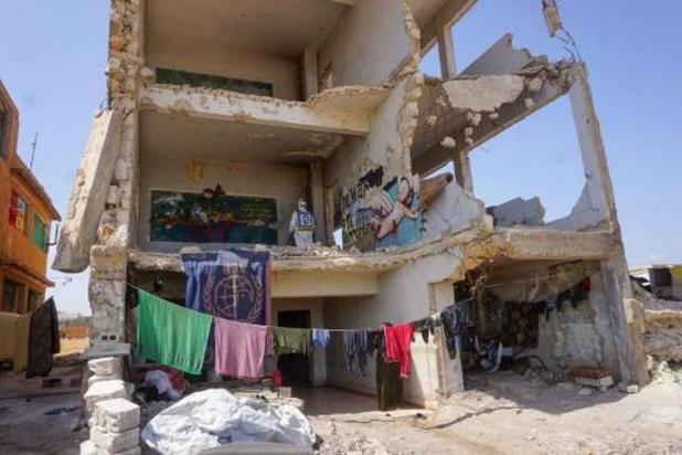 Honderd burgerdoden in Idlib in maart