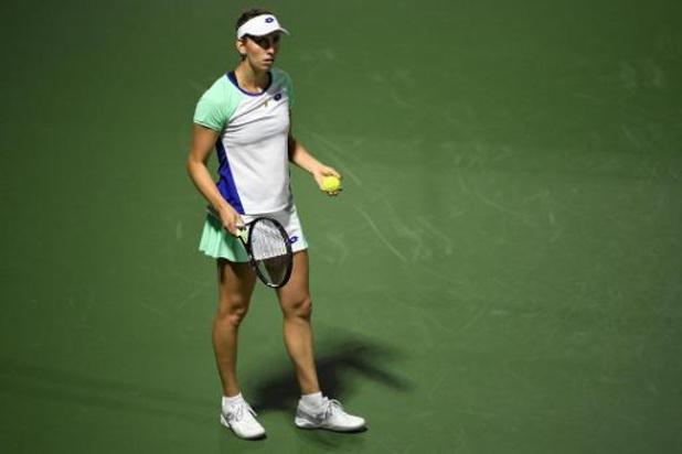 """WTA Cincinnati - Mertens, battue par Osaka: """"Je suis contente du niveau de mon deuxième set"""""""