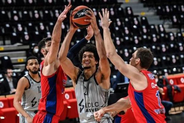 Euroligue (m) - Défaite pour Ismaël Bako et l'ASVEL contre le CSKA Moscou