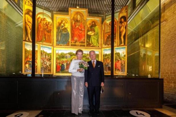 Vlaamse overheid voorziet 1,6 miljoen euro voor laatste fase restauratie Lam Gods