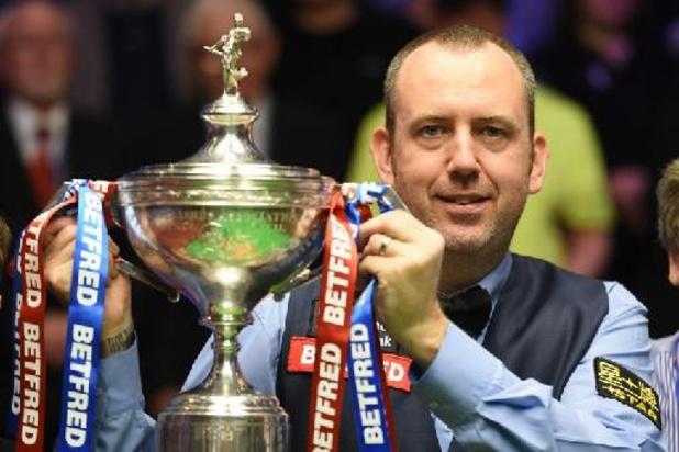 """WK snooker - """"Vintage"""" Mark Williams houdt John Higgins uit kwartfinales"""