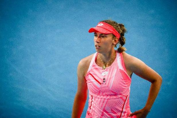Elise Mertens behoudt zeventiende plaats op WTA-ranking