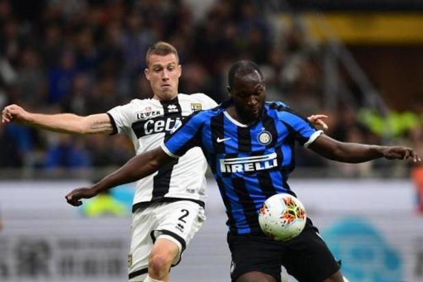 Les Belges à l'étranger - Malgré un but de Lukaku, l'Inter Milan manque l'occasion de prendre la tête