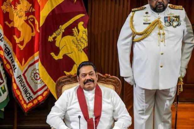 Broer president Sri Lanka ingezworen als premier