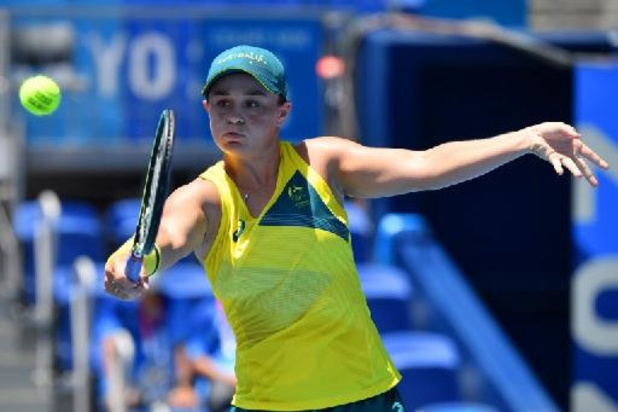 WTA Cincinnati - Barty rekent vlot af met revelatie Teichmann en verovert eindzege