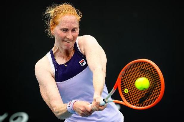 Alison Van Uytvanck battue au premier tour du simple à Belgrade