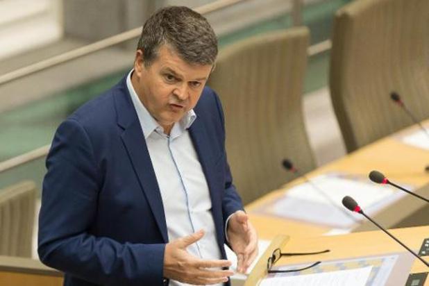 Man opgepakt voor bedreigingen tegen Somers na debat in Vlaams Parlement