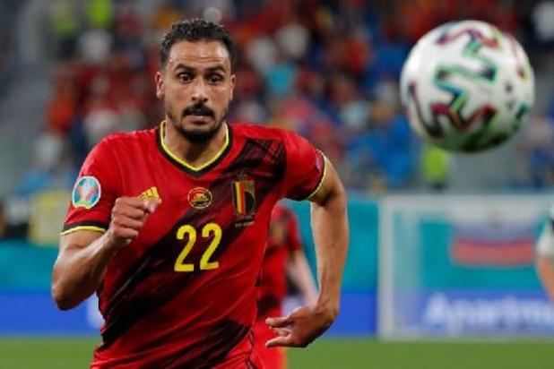 Nacer Chadli reist niet mee naar Sevilla voor duel tegen Portugal