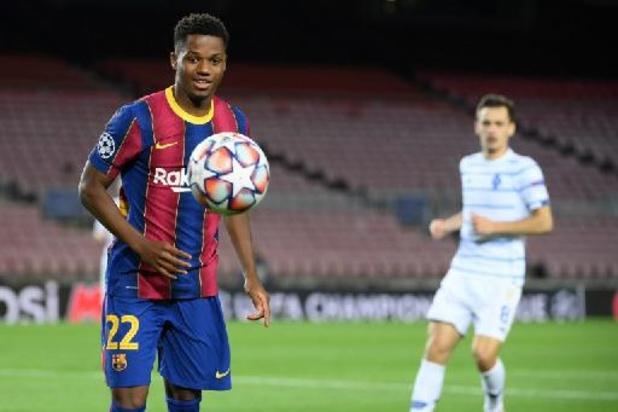 La Liga - Barcelona bevestigt nieuwe operatie voor Ansu Fati, die EK mist