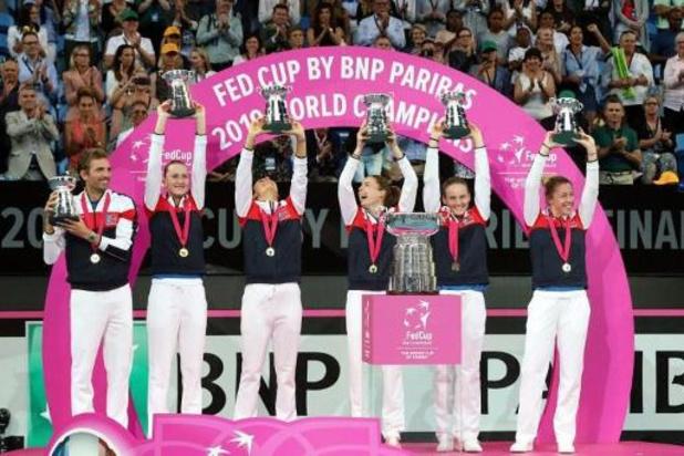 La phase finale de la Billie Jean King Cup (ex-Fed Cup) reportée