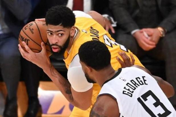 NBA - LA Lakers start met zege in finale Western Conference