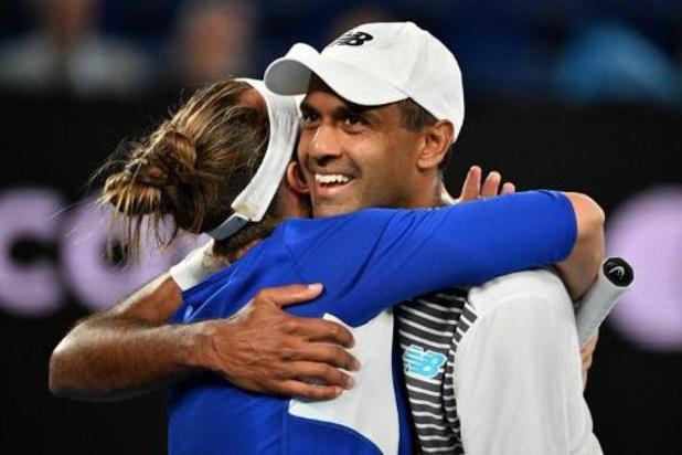 Rajeev Ram et Barbora Krejcikova remportent le double mixte de l'Open d'Australie
