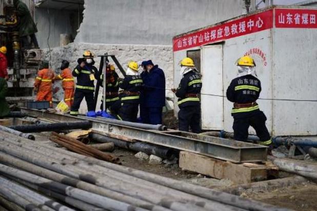 Au moins encore 15 jours pour sortir les mineurs coincés en Chine