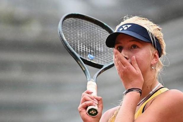 WTA Lyon - La jeune Danoise Tauson en finale à Lyon avec l'aide de Justine Henin