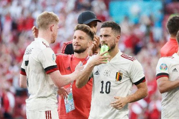 Plus de 3 millions de Belges devant leur écran pour le match contre le Danemark