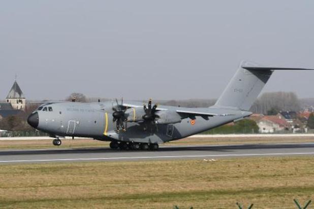 La base de Coxyde servira pendant une semaine pour tester le déploiment d'un avion A400M