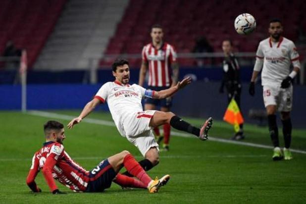 Belgen in het buitenland - Leider Atlético Madrid pakt overwinning in slotminuten tegen Eibar