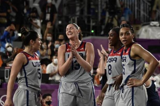 Les États-Unis et la Lettonie premiers champions olympiques de basketball 3x3