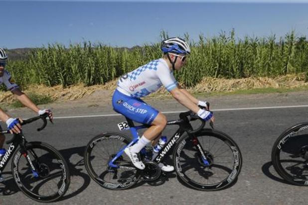 Remco Evenepoel s'impose dans la 2e étape au sommet de l'Alto da Foia et devient leader