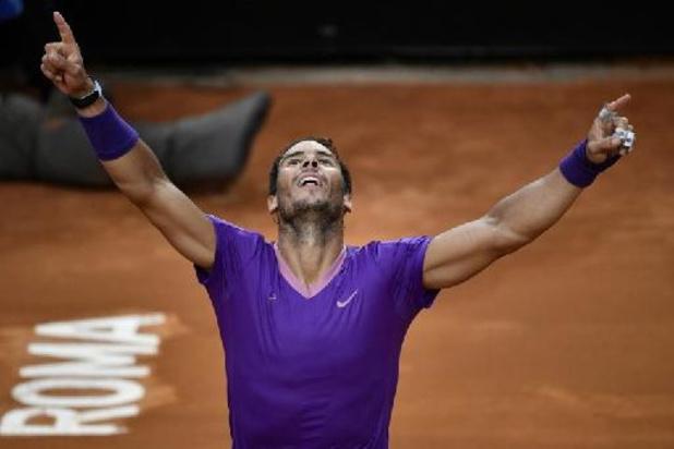 ATP Rome - Nadal bat Djokovic en finale, décroche son 10e titre à Rome et son 36e Masters 1000