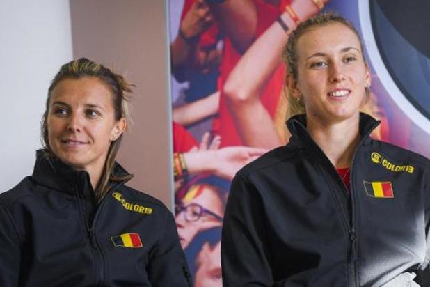 WTA Doha - Mertens haalt het in Belgisch dubbelonderonsje van Flipkens