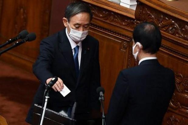 Yoshihide Suga is nieuwe premier van Japan